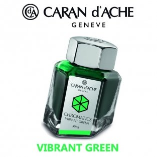 ATRAMENT CARAN D'ACHE CHROMATICS ZIELONY