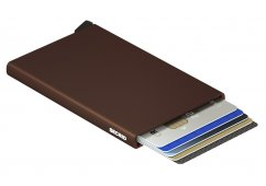 PORTFEL SECRID CARDPROTECTOR BROWN