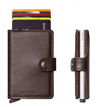 PORTFEL SECRID MINIWALLET ORIGINAL DARK BROWN