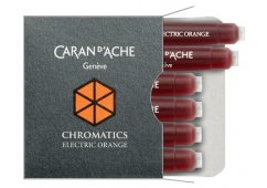 NABOJE CARAN D'ACHE CHROMATICS ELECTRIC ORANGE