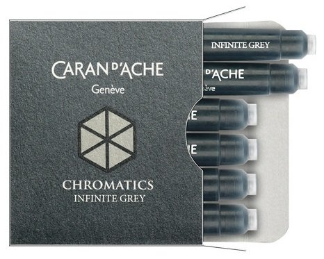 NABOJE CARAN D'ACHE CHROMATICS INFINITE GREY