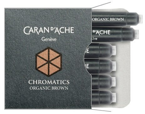 NABOJE CARAN D'ACHE CHROMATICS ORGANIC BROWN